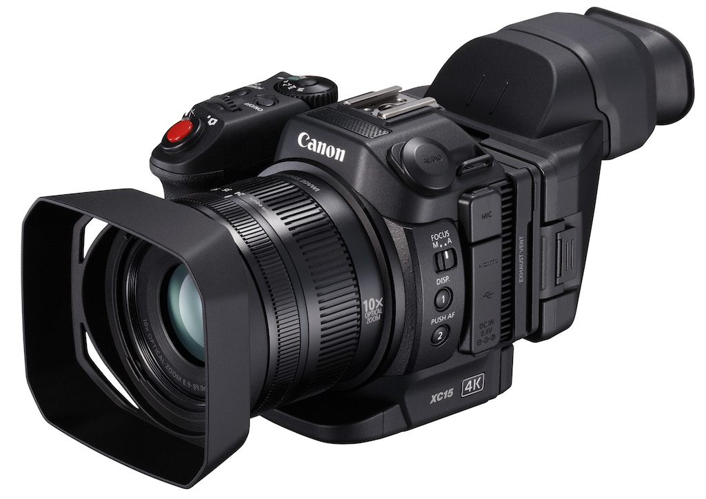 XC15: la nueva cámara compacta 4K de Canon con una interfaz de audio ...