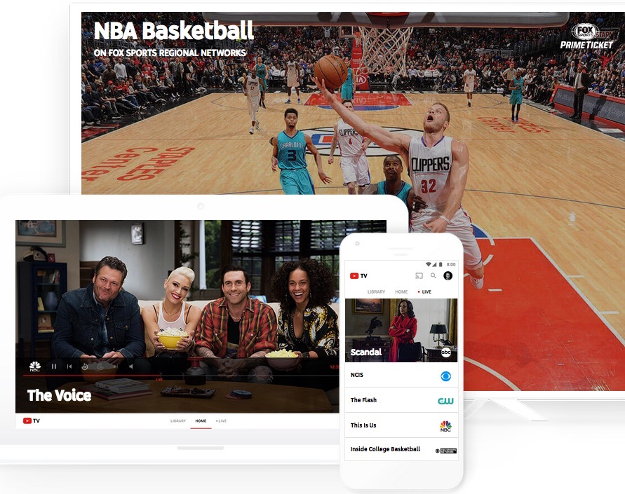 YouTube TV: Watch & DVR Live Sports, Shows & News