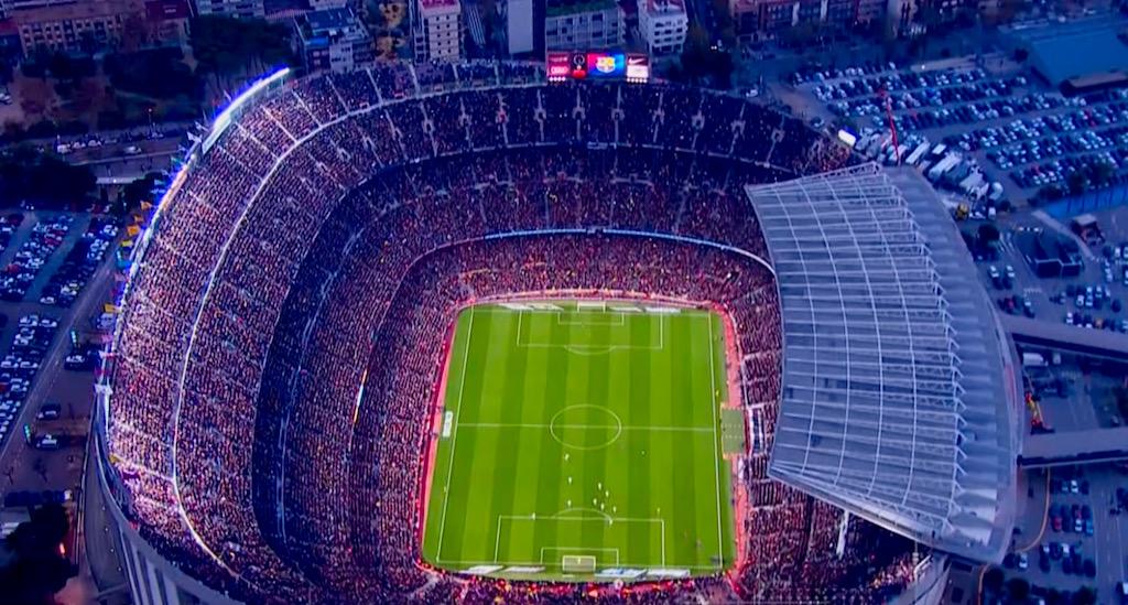 Telefónica y el FC Barcelona convierten el Camp Nou en el primer estadio de  Europa con cobertura 5G dedicada b39a78e4031