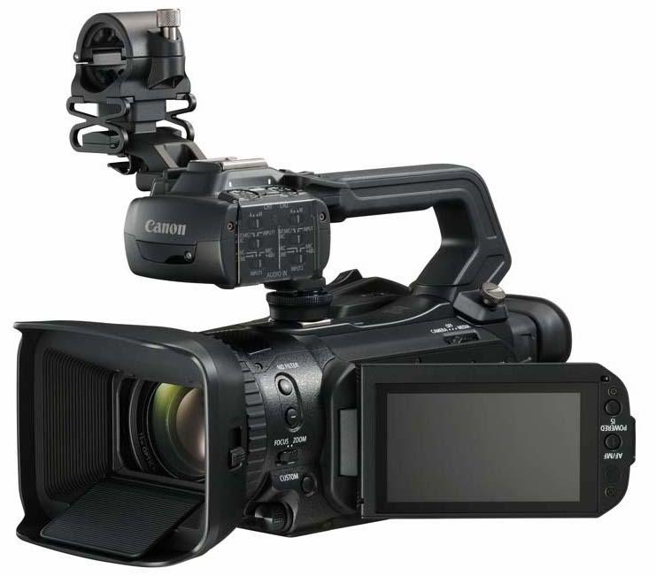 canon lance quatre nouvelles cam ras professionnelles deux d 39 entre eux avec enregistrement 4p. Black Bedroom Furniture Sets. Home Design Ideas