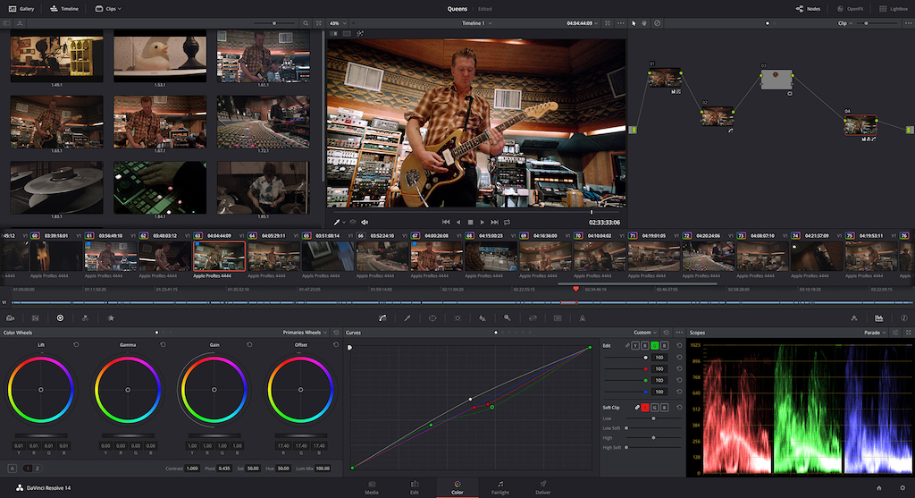 Resultado de imagen de Blackmagic Design DaVinci Resolve Studio