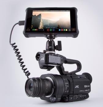 Ninja Inferno con JVC GY-LS300