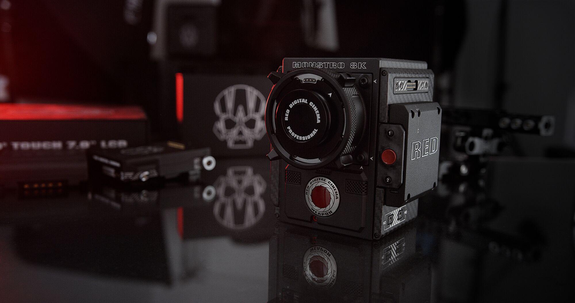 Netzwerk kündigt seine neue Vollformat-Sensor-Kameras Waffe, Monster ...