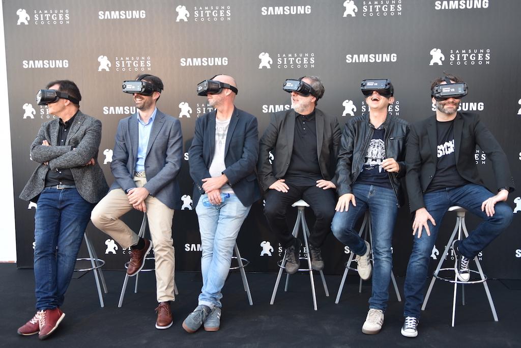 Samsung führt zum zweiten Mal die virtuelle Realität zu Sitges Festival