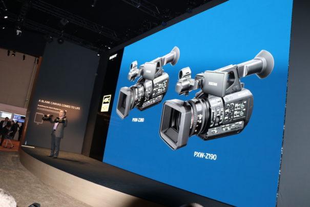 Sony NAB 2018 PXW-Z280 y PXW-Z190