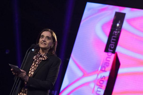 María Valcarce en los Premios Panorama 2018
