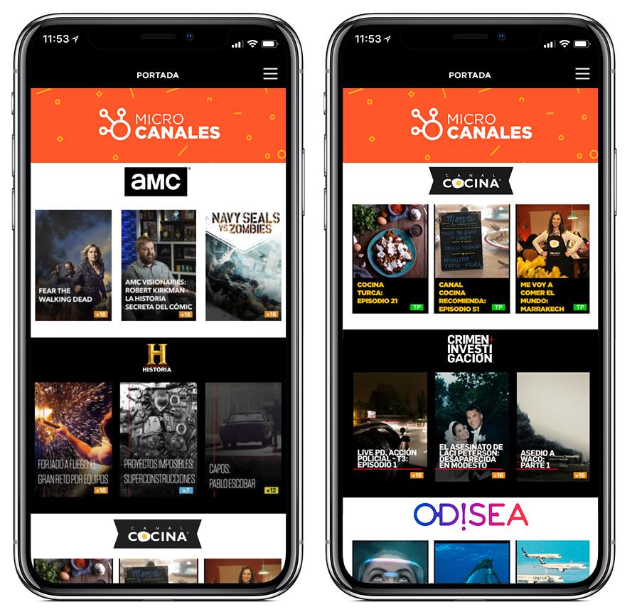 AMC Networks lanza Microcanales, una aplicación gratuita con ...