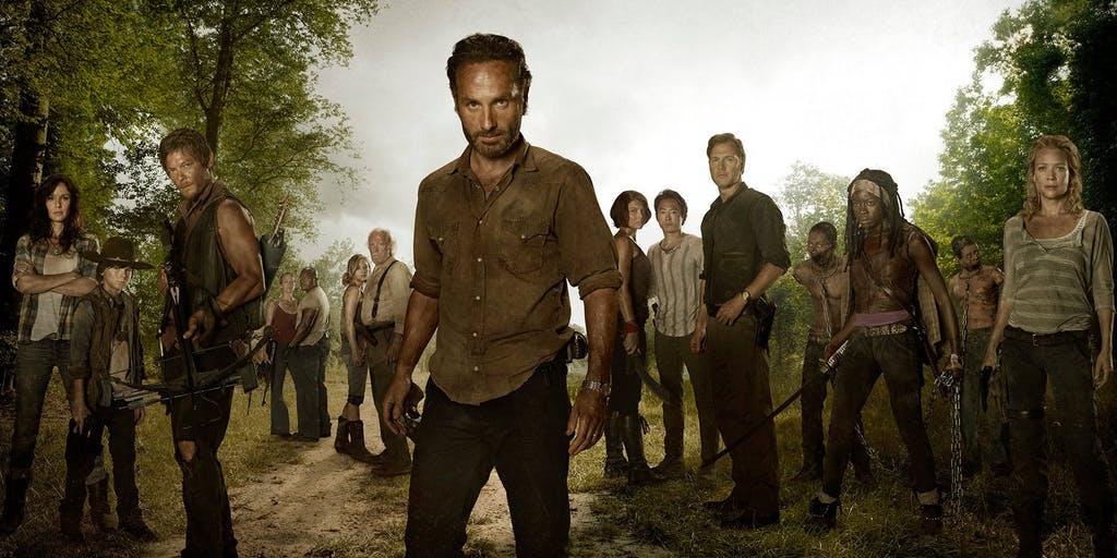 The Walking Dead', la serie con más tirón en el mundo