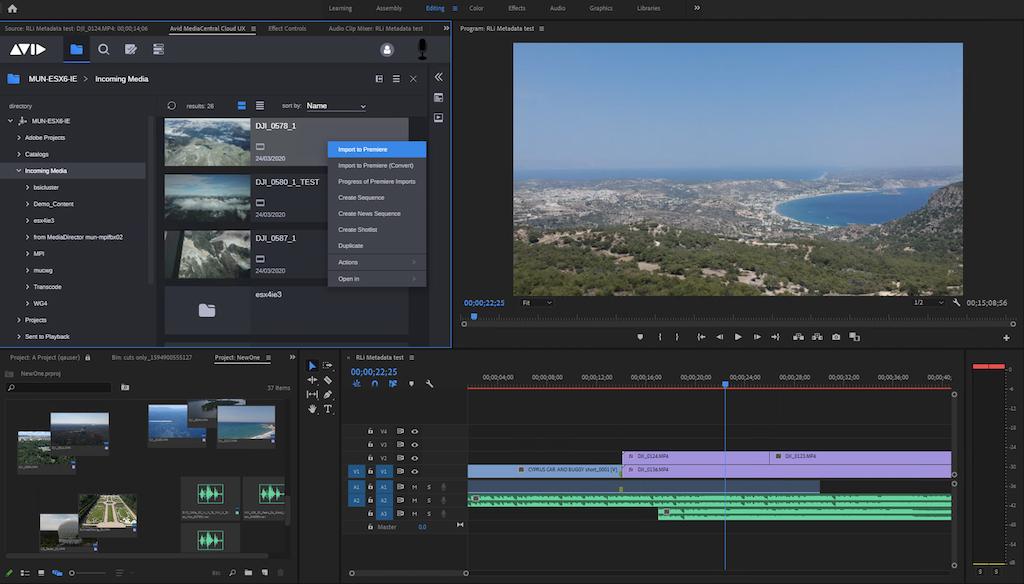 Avid Abre Nuevos Horizontes Al Abrir La Colaboracion Con Adobe Premiere Pro