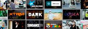 Telefónica Servicios Audiovisuales renueva con Hispasat la distribución de los canales de AMC Networks para España y Portugal