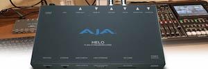 La japonesa Alamode transmite en directo y graba contenido web con AJA Helo
