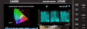 Ikegami Europa invierte en el monitor de onda LV5600 SDI/IP de Leader para pruebas de referencia