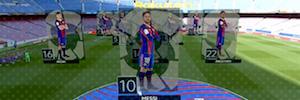 wTVision diseñó e implementó una solución completa de realidad aumentada en 'El Clásico'