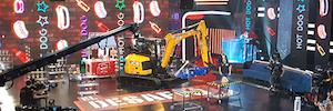 Videoreport proporciona servicios de producción para el programa de 7 y Acción para Antena 3 'El Desafío'