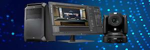 Brainstorm presenta su flujo de trabajo avanzado de realidad aumentada con la gama de cámaras Sony BRC