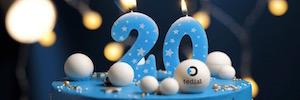 Tedial celebra su vigésimo aniversario desarrollando tecnologías pioneras para media y entretenimiento