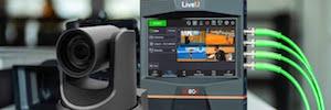Control remoto completo de cámara PTZs con LiveU IP Pipe