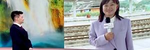 CCTV emite en directo desde un tren de alta velocidad gracias a enlaces de Aviwest