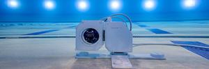 Las robóticas de Telemetrics junto a las cámaras Alpha 9 ll y Alpha 1 de Sony capturarán imágenes bajo el agua en Tokio 2020