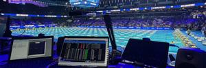 Dodd Technologies coordina la producción de las pruebas de natación de EE.UU. con Bolero y Artist de Riedel