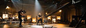 Ed Sheeran graba un concierto virtual con cámaras URSA Mini Pro 12K de Blackmagic