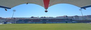 El estadio O Couto en Ourense instala un sistema de producción automática basado en inteligencia artificial y 5G