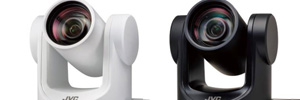 JVC launches new range of 4K and HD PTZ cameras with NDI and SRT support
