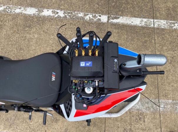 Enlace 5G de Vislink en MotoGP
