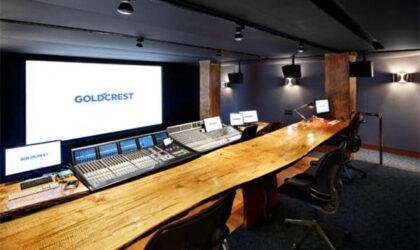 Goldcrest Post NY Estudio A - Dolby Atmos
