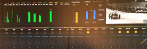 The sound of 'Magnificent Madness' is postproduced with DaVinci Resolve (Blackmagic Design)