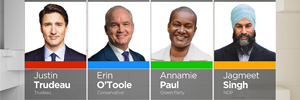 APTN covers Canadian elections with Polygon Labs data visualization solutions